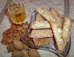 Cantucci: Crunchy almond biscuits, from Tuscany [Italy]