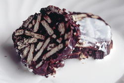 Salame inglese - chocolate biscuit roll [Italy]